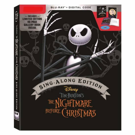 The Nightmare Before Christmas Sing ALong Edition