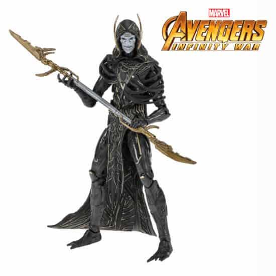 Avengers Infinity war Corvus Claive