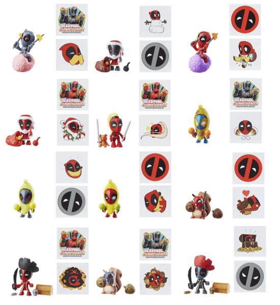 Deadpool Chimichanga Surprise Pack