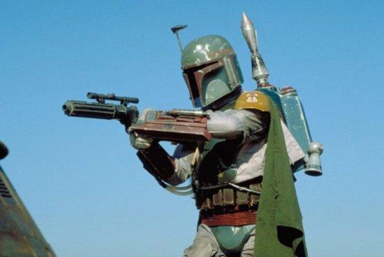 boba fett wearing famous beskar armor