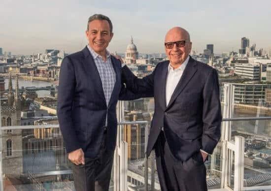 Bob Iger and Rupert Murdoch [19659005] Bob Iger and Rupert Murdoch