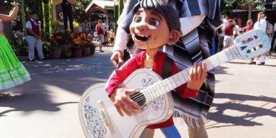 Coco at Disneyland