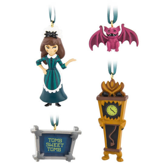 Haunted Mansion Mini Ornaments