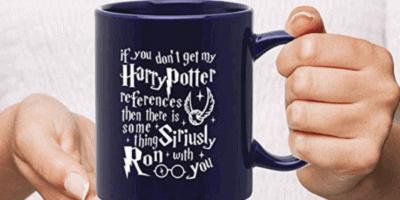 """Harry Potter"" mugs"