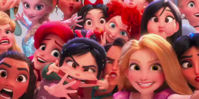 Disney Princess scene