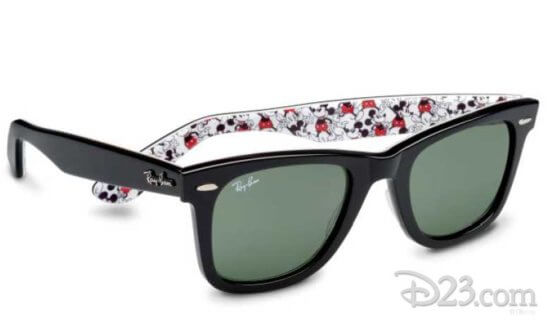 Mickey Mouse Ray Ban sunglasses