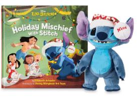 holiday mischief with stitch