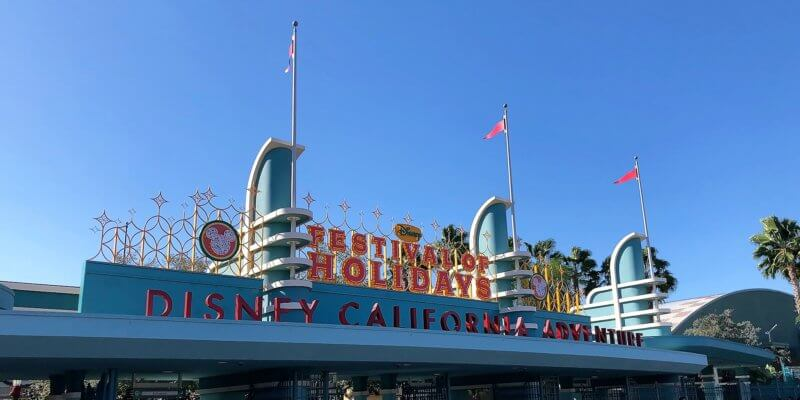 Disney California Adventure Festival of the Holidays