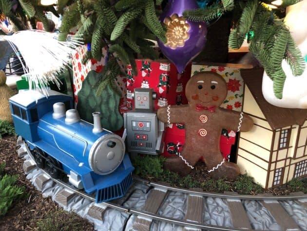 Disney California Adventure Holiday Decorations