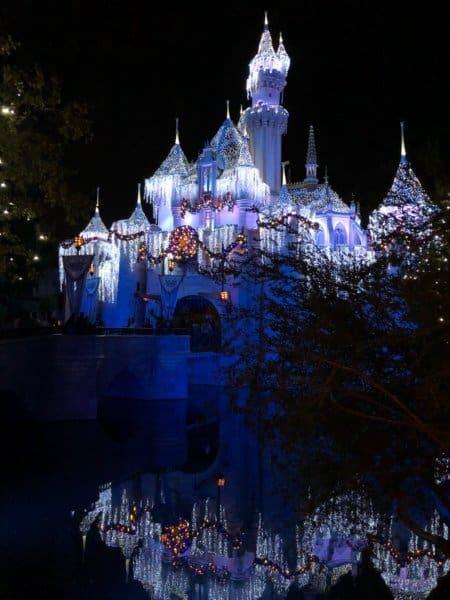 Disneyland Castle Holiday Decorations