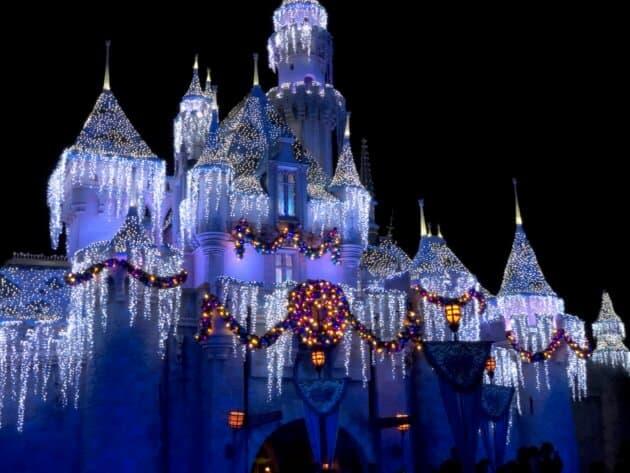 Disneyland Holiday Castle