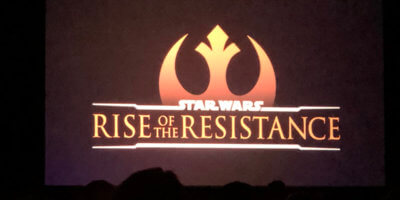 Star Wars: Galaxy's Edge ride Rise of the Resistance