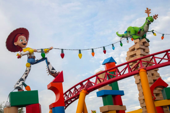 Toy Story Land Holiday Decorations