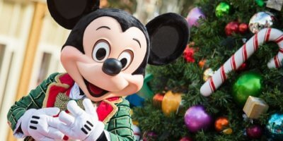 Holiday Mickey Mouse