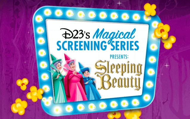 Sleeping Beauty screenings