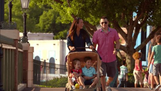 bringing babies to Disney