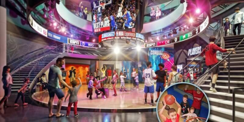 NBA Experience at Disney Springs