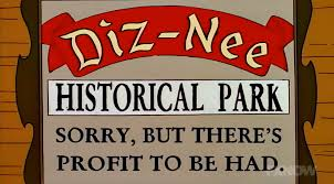 The Simpsons, Diz-Nee sign