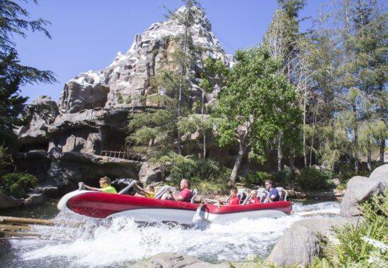 Matterhorn Bobsleds at Disneyland Park