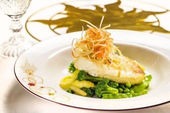 Pan Seared Sea Bass Filet