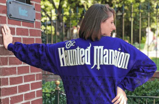 The Haunted Mansion spirit jersey
