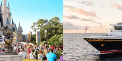 Disney cruise line & walt disney world