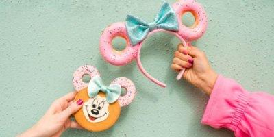 Minnie Donut Ear