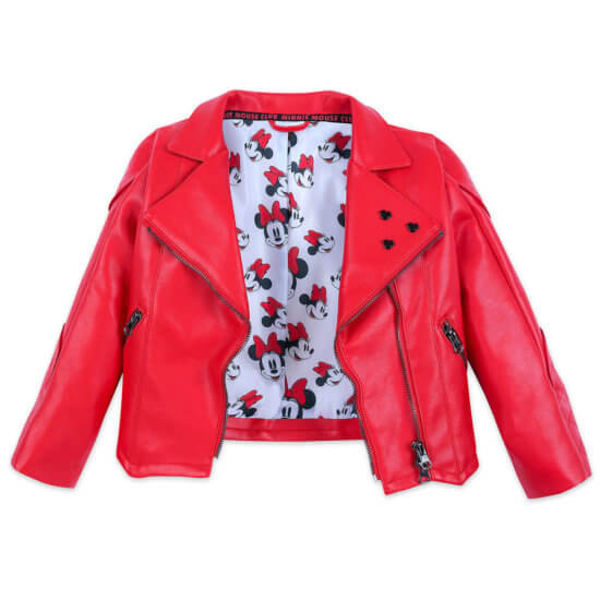 Minnie Mouse Faux Leather Jacket