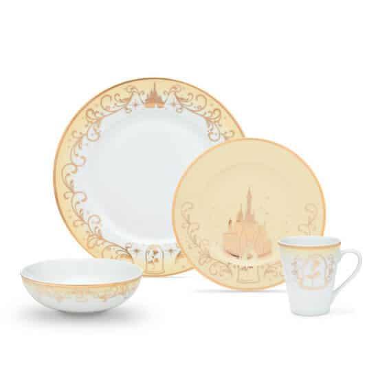 Disney Dinnerware Set - Beauty and the Beast design