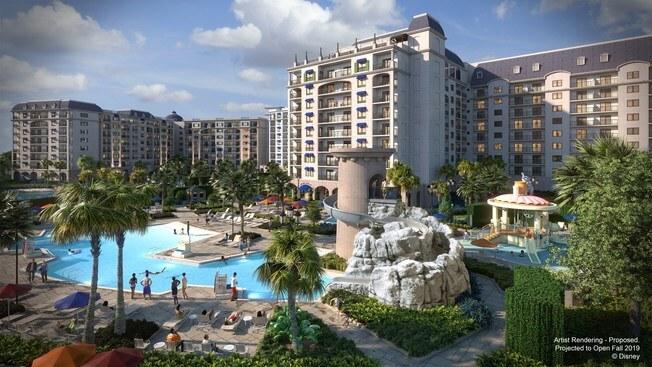 Disney's Riviera Resort Pool
