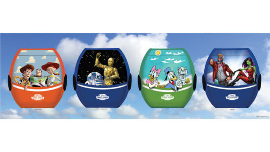 New Disney Skyliner Gondola designs