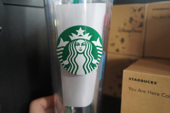 Starbucks Tumbler at Disney Parks