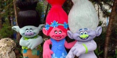 Trolls at Universal Studios