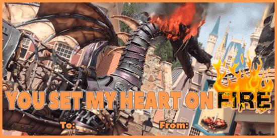 Disney Parks Valentine Valentines Day