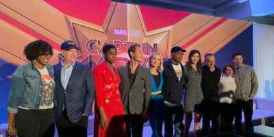 Captain Marvel Press Conference