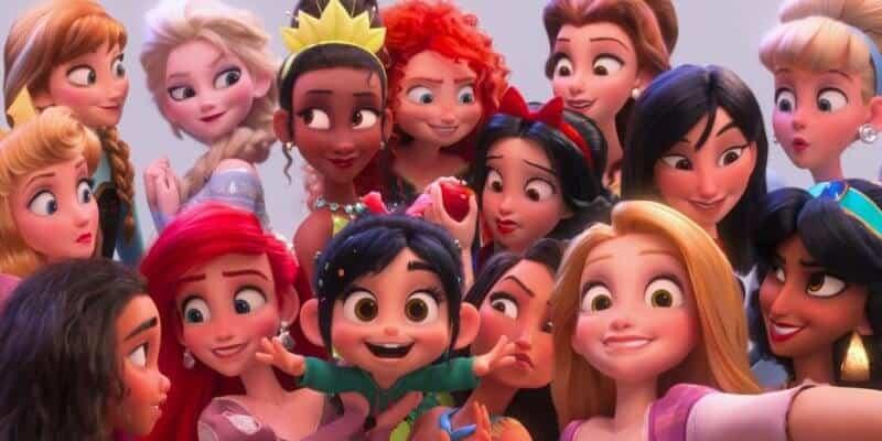 Disney Princesses in Ralph Breaks the Internet