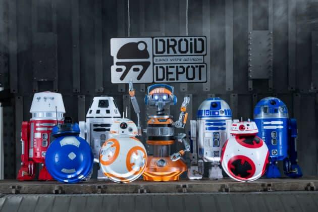 Star Wars: GalaxyÕs Edge Merchandise Ð Custom Droids