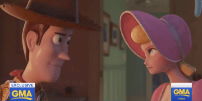 """New """"Toy Story 4"""" clip shows Bo Peep and Woody back in action, reveals details of past relationship"""