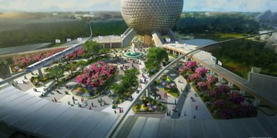 Epcot changes with new entrance