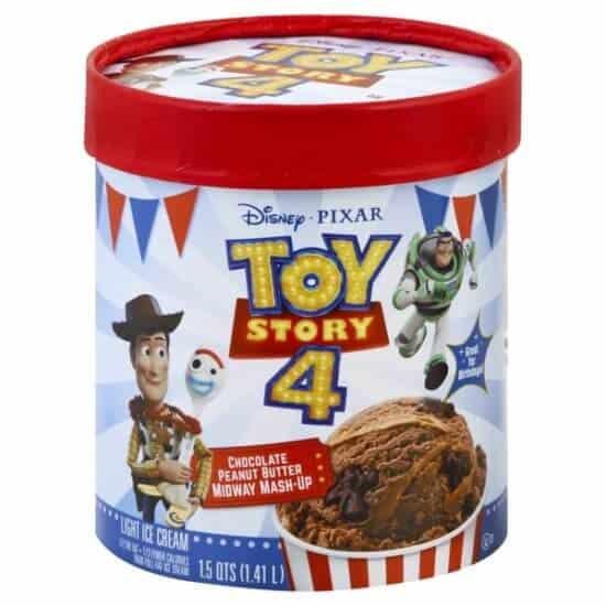 """Toy Story 4"" Cinnamon Churro Carnival Combo ice cream by Edy's"