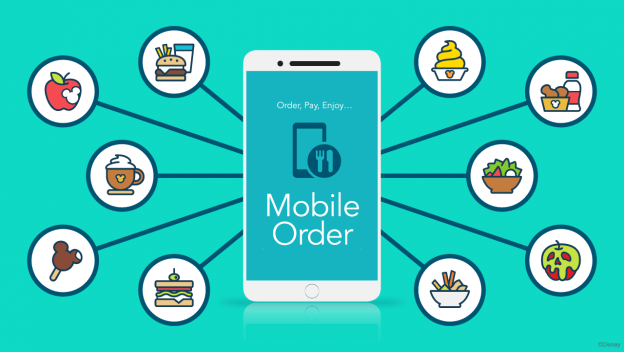 My Disney Experience App for Mobile Ordering