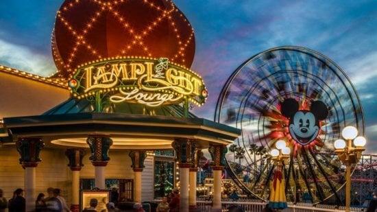 lamplight lounge pixar pier disney california adventure