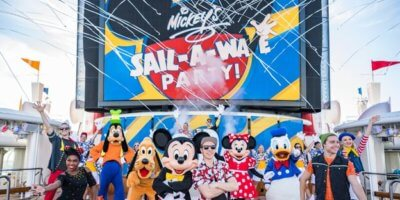 Mickeys Sail-a-Wave Party