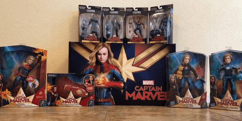 Hasbro Captain Marvel toys