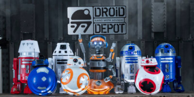 Inside Droid Depot's droid-building experience at Star Wars: Galaxy's Edge