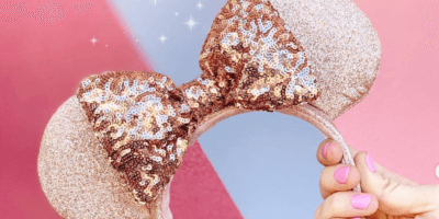 New Briar Rose Gold Minnie Mouse Ears coming to Disney Parks