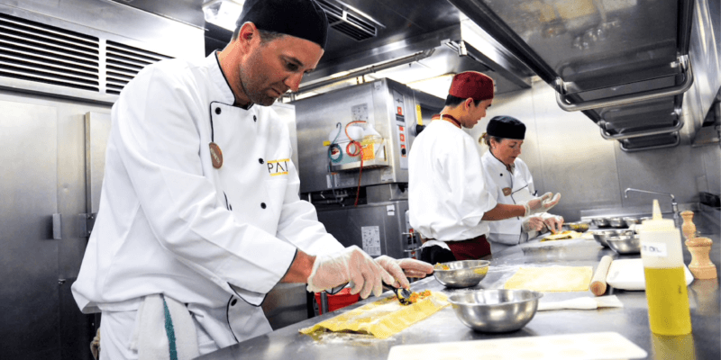 Cook side-by-side with Disney Cruise Line chefs aboard Disney Fantasy