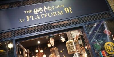 The Harry Potter Shop at Platform 9 3/4 London
