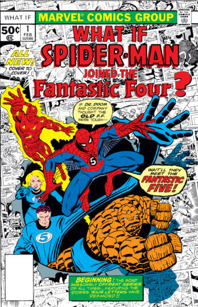 """Marvel's """"WHAT IF"""" comic book series reportedly to become Disney+ show"""