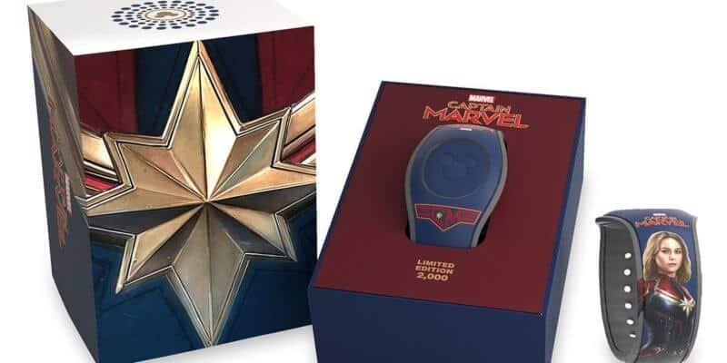 Captain Marvel MagicBand